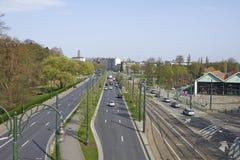 Avenue de Tervuren in Brussels Stock Photos