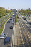 Avenue de Tervuren in Brussels Royalty Free Stock Photo
