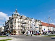 Avenue de Vierge Marie dans Czestochowa Images libres de droits