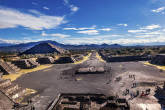 Avenue of Dead Teotihuacan Mexico City Mexico Stock Image