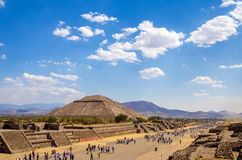 Avenue of the Dead Royalty Free Stock Photography