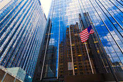 Avenue des Amériques 6ème poids du commerce Manhattan New York Photographie stock