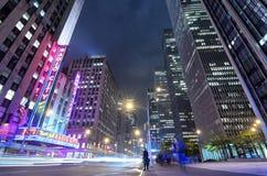 Avenue des Amériques Photo libre de droits