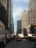 Avenue des Amériques Images libres de droits