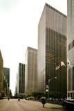 Avenue des Amériques, New York City, Etats-Unis Photos libres de droits