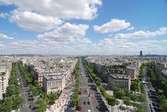 Avenue des Champs-�lysées Royalty Free Stock Image
