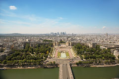 Avenue des Champs-elysees paris top view from high. Avenue des Champs elysees paris world places stock image