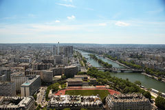 Avenue des Champs-elysees paris top view to town. Avenue des Champs elysees paris world places stock images