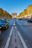 Arc de Triomphe de l'Étoile Stock Photos