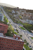 Avenue Diagonal in Barcelona Royalty Free Stock Photography