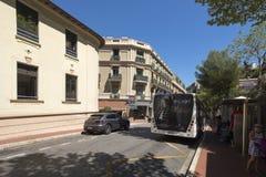 Avenue du Port, Monaco. Stock Photos