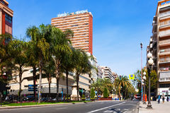 Avenue Federico Soto in Alicante Stock Photo
