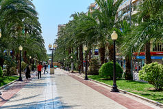 Avenue Federico Soto in Alicante. Spain Stock Photos