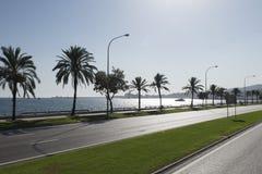 Avenue Gabriel Roca, Palma de Mallorca Stock Photography