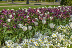 Avenue Gardens at the Regent's Park in London Stock Photography