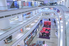 Avenue K Shopping mall architecture Kuala Lumour Stock Photos