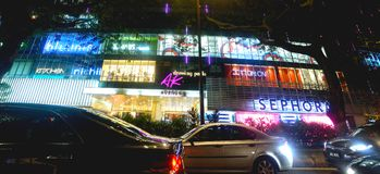 Avenue K Shopping Mall. Kuala Lumpur's mallscape is vast. Large-scale shopping complexes are extremely popular and within the Golden Triangle area itself stock image