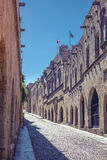 Avenue of the Knights, Rhodes, Stock Photo
