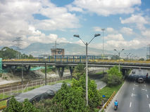 Avenue of Medellin Colombia Royalty Free Stock Photo