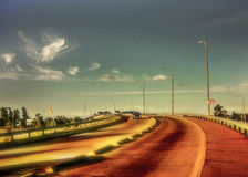 Avenue of Montevideo Royalty Free Stock Photo