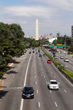 Avenue in Sao Paulo, Brazil Stock Photo