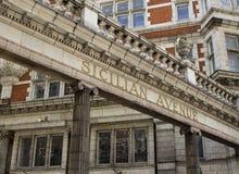 Avenue sicilienne à Londres Photos stock
