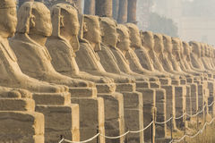 Avenue of the Sphinxes, Luxor Temple, Egypt Stock Photos