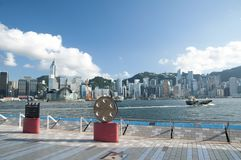 The Avenue of Stars in Hon g Kong Stock Images