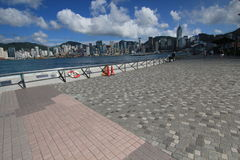 The Avenue of Stars in Honf Kong Royalty Free Stock Photos