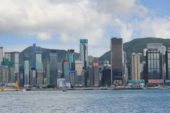 The Avenue of Stars in Honf Kong Royalty Free Stock Images