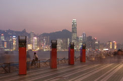 Avenue of Stars in Hong Kong Stock Photography