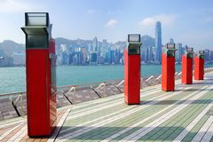 Avenue of stars, Hong Kong Royalty Free Stock Photos