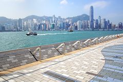 Avenue of Stars. Hong Kong Royalty Free Stock Photos