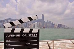 Avenue of stars, Hong-Kong Royalty Free Stock Photography