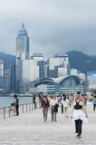Avenue of the Stars in Hong Kong. Stock Photos