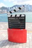 The Avenue of Stars in Hong Kong Stock Image