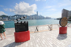 The Avenue of Stars in Hong Kong Royalty Free Stock Photography