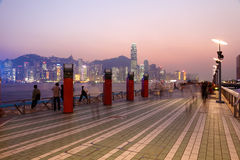 Avenue of Stars, Hong Kong Stock Images