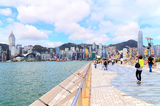 The avenue of stars hong kong Royalty Free Stock Photography