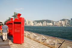 Avenue of Stars in HongKong Royalty Free Stock Image