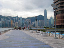 Avenue of stars hongkong Royalty Free Stock Photos
