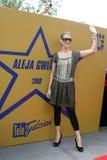 Avenue of Stars Krakow RMF FM. KRAKOW, POLAND - JUNE 28, 2008: Avenue of Stars Radio RMF FM, o/p Celine Dion Stock Image