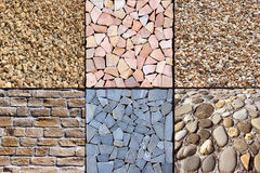 An avenue of stones Royalty Free Stock Photos