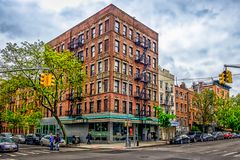 Avenue A and 11th St royalty free stock images