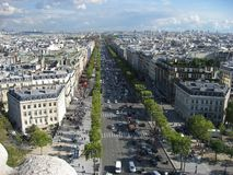 Avenue Victor Hugo Paris Stock Image