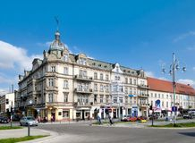 Avenue of of the Virgin Mary in Czestochowa Royalty Free Stock Images