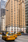 Aveny av Americas 6th Av Manhattan New York Arkivfoto