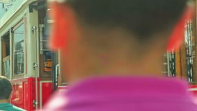 aveny istiklal istanbul Royaltyfria Foton