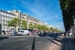 Avenydesen Champs-Elysees Arkivfoto