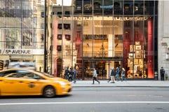 avenystad femte New York Royaltyfria Foton